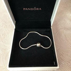 Pandora me snake silver bracelet